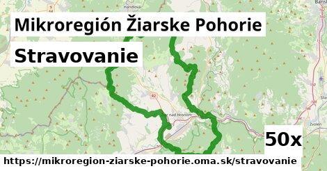stravovanie v Mikroregión Žiarske Pohorie