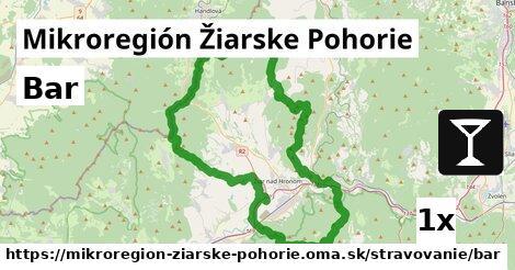 bar v Mikroregión Žiarske Pohorie