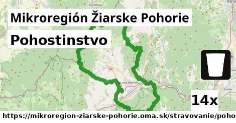 pohostinstvo v Mikroregión Žiarske Pohorie