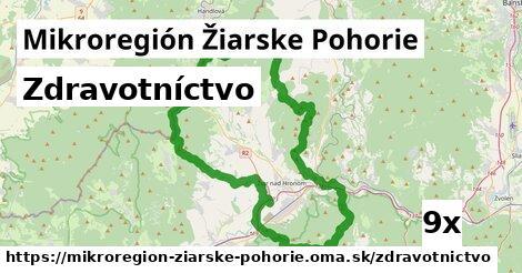 zdravotníctvo v Mikroregión Žiarske Pohorie