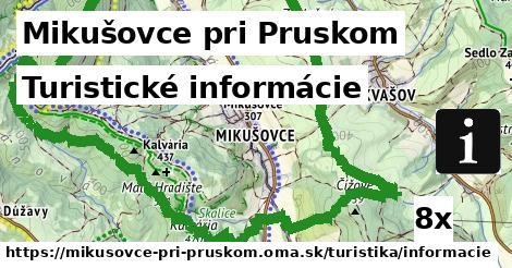 turistické informácie v Mikušovce pri Pruskom