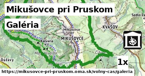 galéria v Mikušovce pri Pruskom