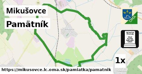 ilustračný obrázok k Pamätník, Mikušovce, okres LC