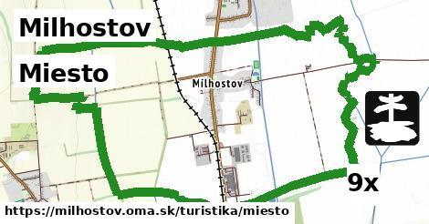 miesto v Milhostov