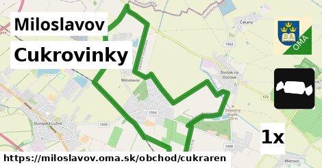 cukrovinky v Miloslavov