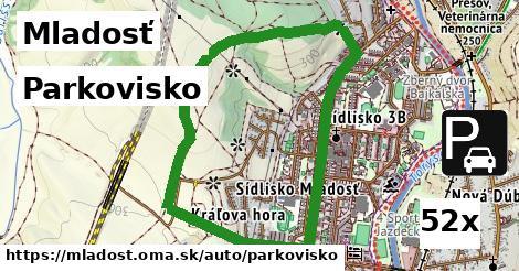 parkovisko v Mladosť