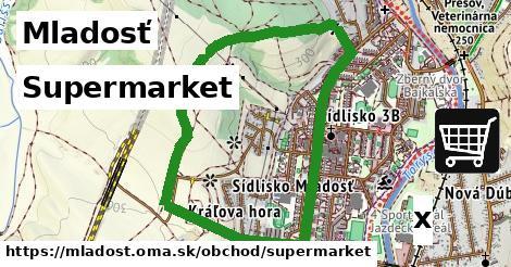 supermarket v Mladosť