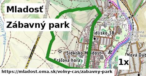 zábavný park v Mladosť
