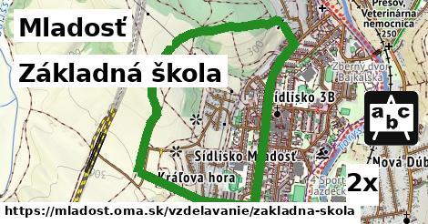 základná škola v Mladosť