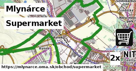 supermarket v Mlynárce