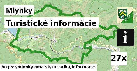 ilustračný obrázok k Turistické informácie, Mlynky