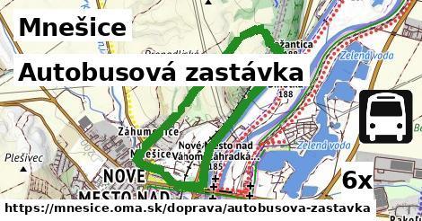 ilustračný obrázok k Autobusová zastávka, Mnešice