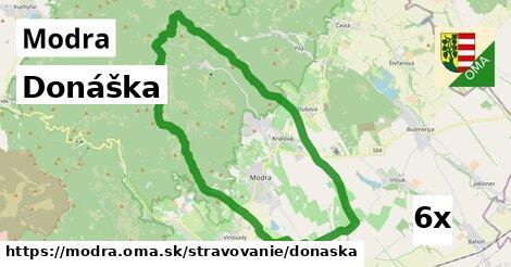 ilustračný obrázok k Donáška, Modra