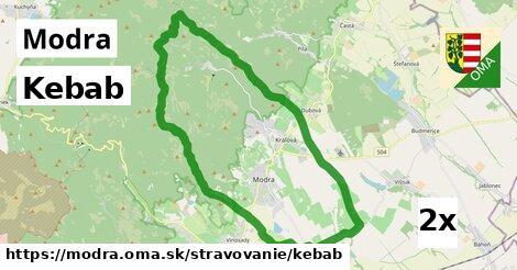 ilustračný obrázok k Kebab, Modra