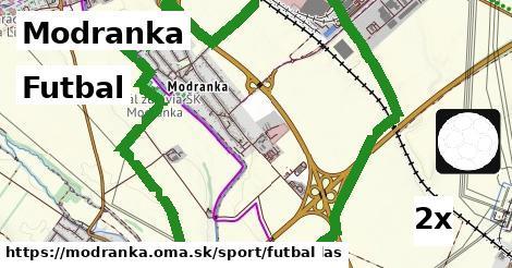 futbal v Modranka