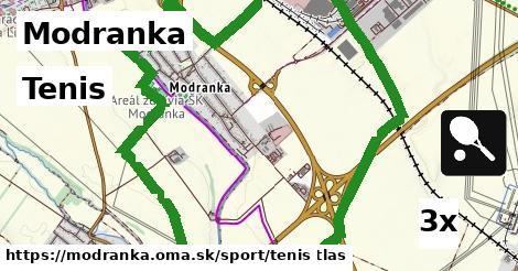 tenis v Modranka