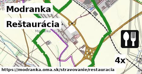 reštaurácia v Modranka