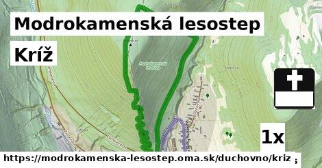ilustračný obrázok k Kríž, Modrokamenská lesostep