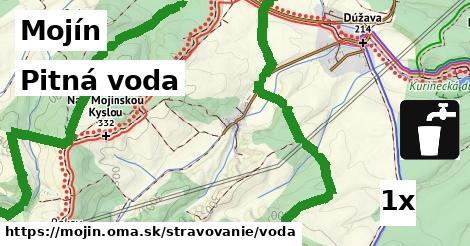 pitná voda v Mojín