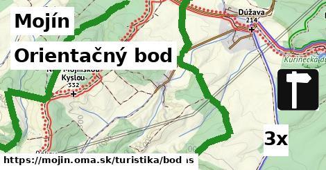 orientačný bod v Mojín