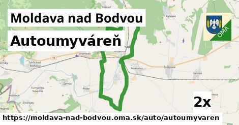 autoumyváreň v Moldava nad Bodvou