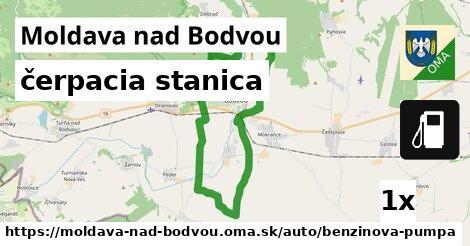 čerpacia stanica v Moldava nad Bodvou