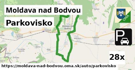 parkovisko v Moldava nad Bodvou