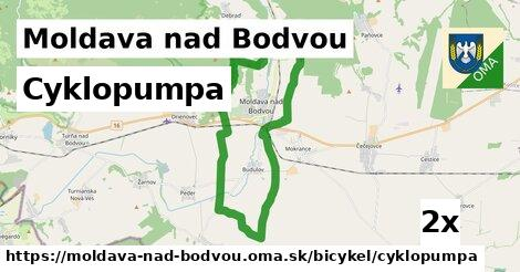 Cyklopumpa, Moldava nad Bodvou