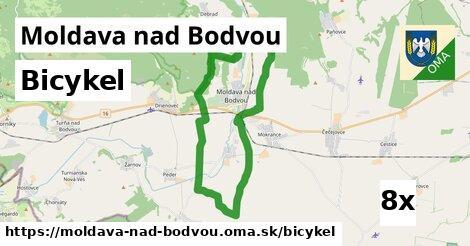 bicykel v Moldava nad Bodvou