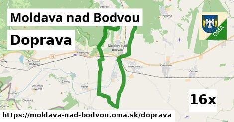 doprava v Moldava nad Bodvou