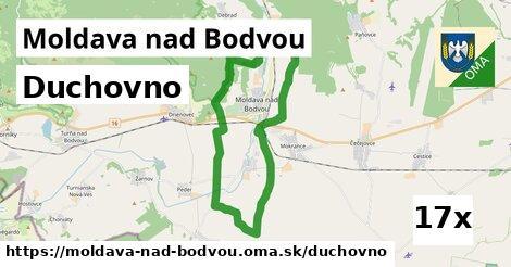 duchovno v Moldava nad Bodvou