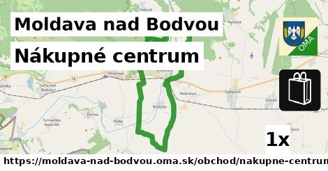 Nákupné centrum, Moldava nad Bodvou