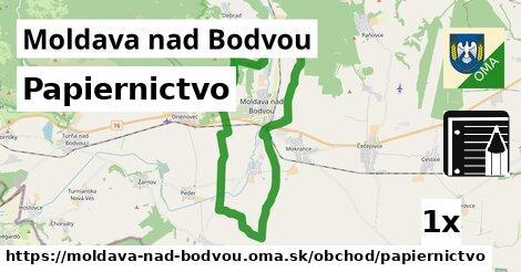 papiernictvo v Moldava nad Bodvou
