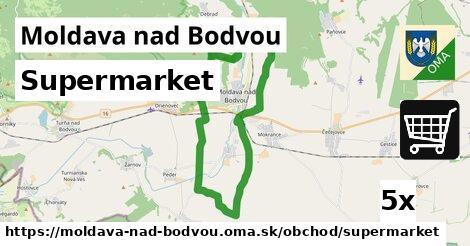 supermarket v Moldava nad Bodvou
