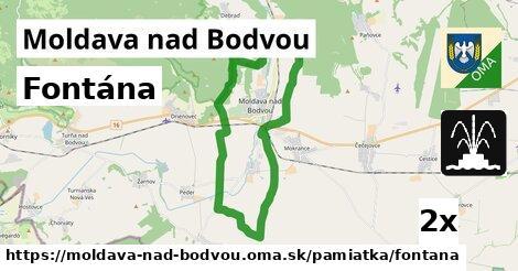 fontána v Moldava nad Bodvou