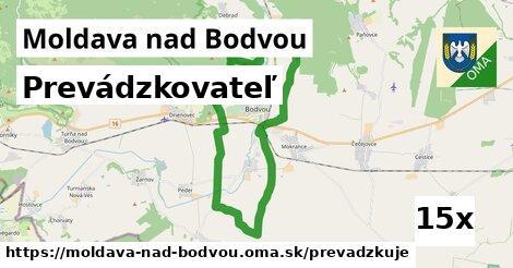 prevádzkovateľ v Moldava nad Bodvou