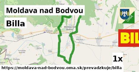 Billa v Moldava nad Bodvou