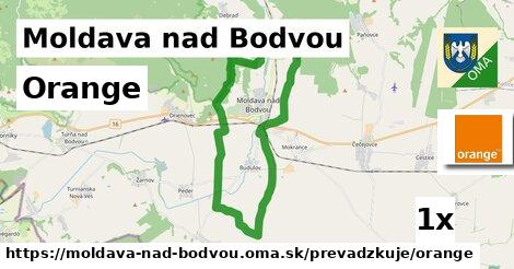 Orange v Moldava nad Bodvou