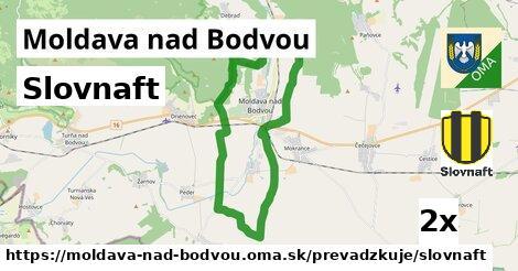 Slovnaft v Moldava nad Bodvou