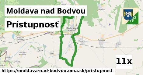 prístupnosť v Moldava nad Bodvou
