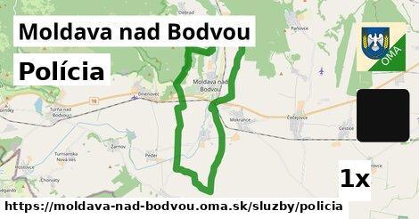 polícia v Moldava nad Bodvou