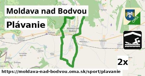 Plávanie, Moldava nad Bodvou