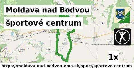 športové centrum, Moldava nad Bodvou