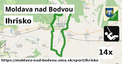 ihrisko v Moldava nad Bodvou