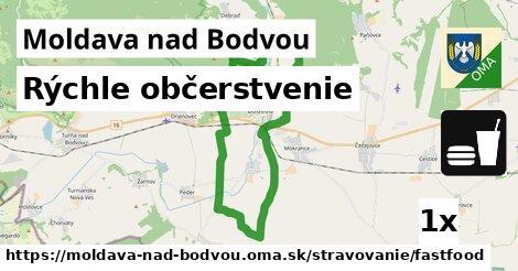 Rýchle občerstvenie, Moldava nad Bodvou