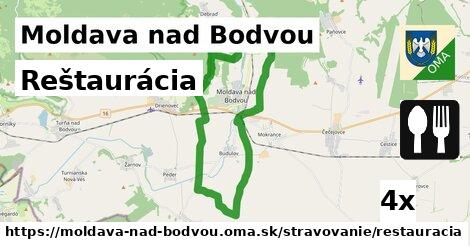 Reštaurácia, Moldava nad Bodvou