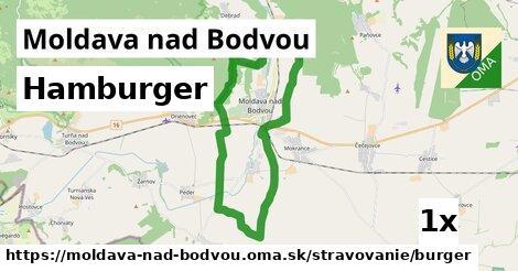 hamburger v Moldava nad Bodvou
