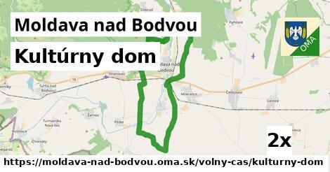 Kultúrny dom, Moldava nad Bodvou