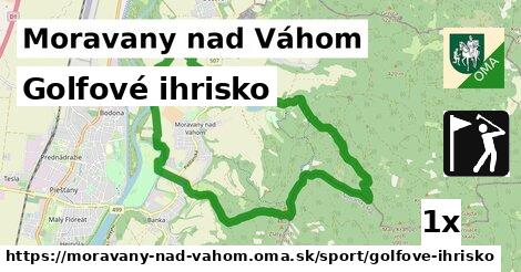 golfové ihrisko v Moravany nad Váhom