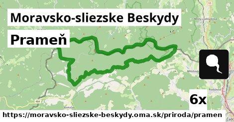 ilustračný obrázok k Prameň, Moravsko-sliezske Beskydy